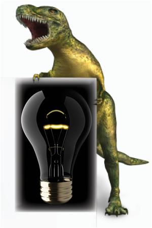 marketing dino for lighting