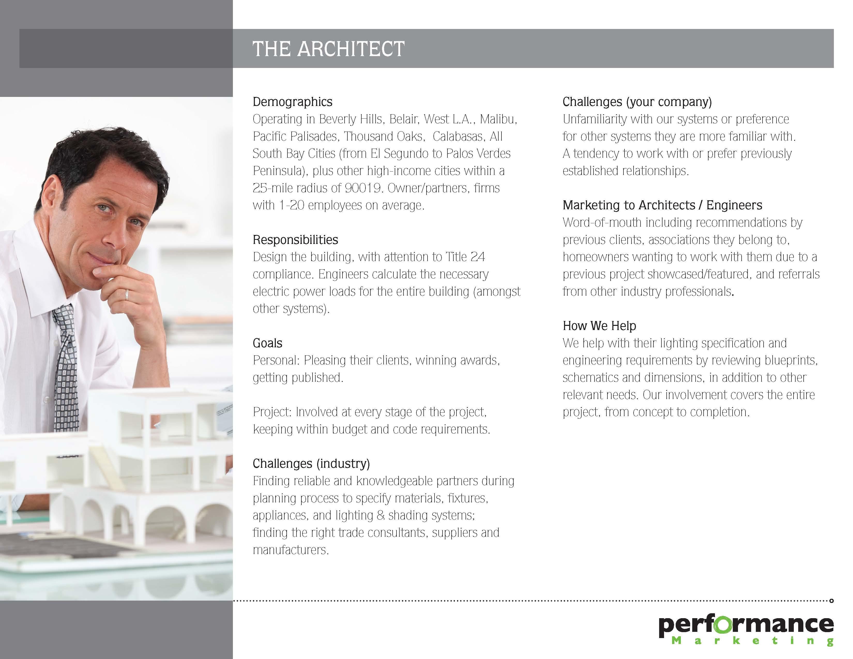 Generic Architect Persona